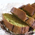 Vanilla & Matcha Green Tea Bread